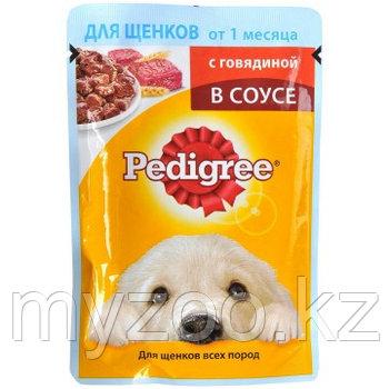 Влажный корм Педигри пауч для щенков говядина промо 100 гр