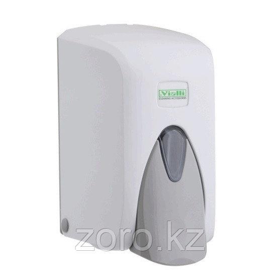 Дозатор (диспенсер) Vialli для жидкого мыла 500 мл белый