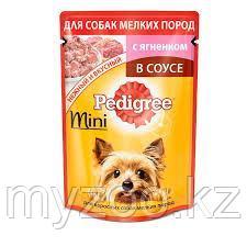 Влажный корм Педигри для взрослых собак малых пород ягненок 100 гр