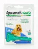 ФРОНТЛАЙН КОМБО FRONTLINE COMBO CHIEN M  (фипронил)   -  для собак массой от 10 до 20 кг