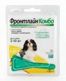 ФРОНТЛАЙН КОМБО  FRONTLINE COMBO CHIEN S  (фипронил)   для собак массой от 2 до  10 кг
