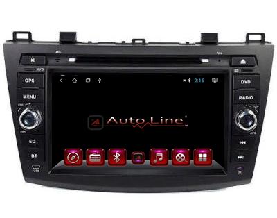 ANDROID 8.1.0 Mazda 3 2007г. HD ЭКРАН 1024-600 ПРОЦЕССОР 4 ЯДРА (QUAD CORE)