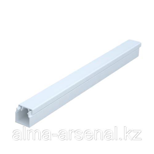 Кабель-канал 12х12 мм цвет белый, 2 м уп.100м