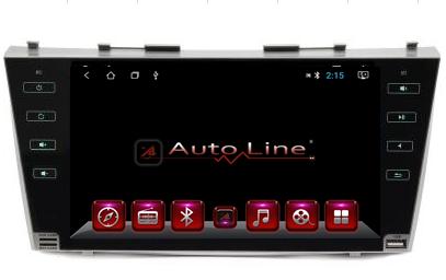 Автомагнитола AutoLine Toyota Camry 40/45 Black Edition ПРОЦЕССОР 8 ЯДЕР (OCTA CORE)