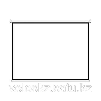 Экран 203х153 настенный DLS-M203х153 белый, фото 2