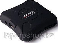 Combo USB Hub + cardreader TSJ-22A