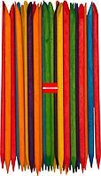 Апельсиновые палочки для маникюра разноцветные 100шт
