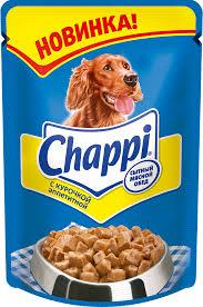 Влажный корм Чаппи пауч курочка аппетитная 100 гр