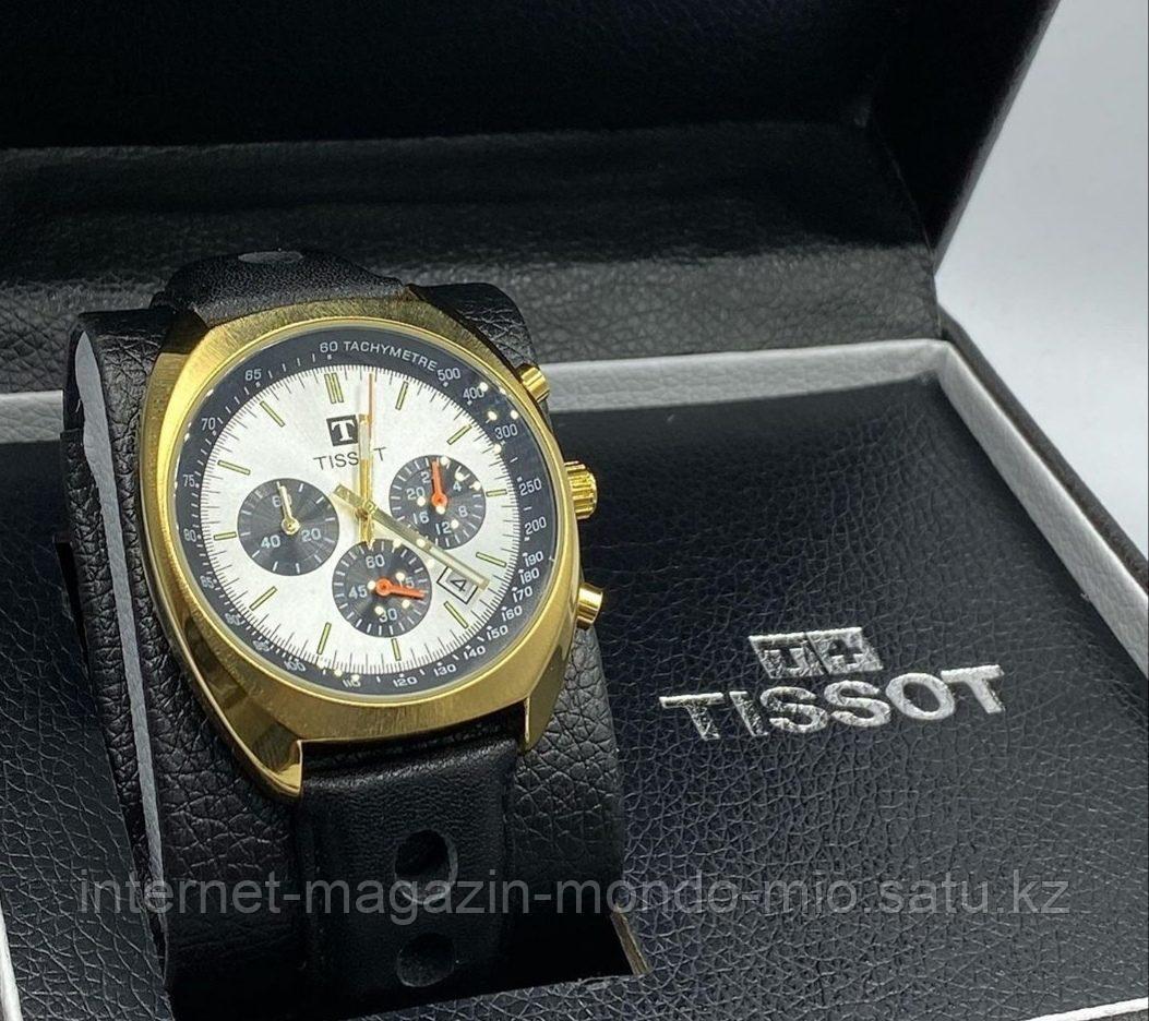 Часы мужские Tissot полулюкс с рабочими хронографами