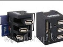 Combo USB Hub + cardreader YB-CR008
