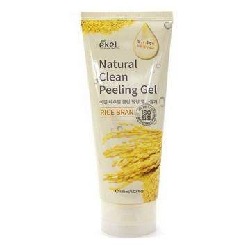 Ekel Rice Bran Natural Clean Peeling Gel Пилинг для лица с экстрактом Риса 100мл.