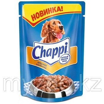 Влажный корм Чаппи пауч мясное изобилие 100 гр