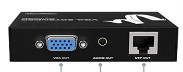 Удлинители HDMI/VGA MT-300T