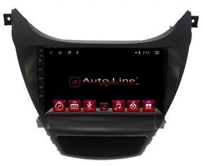 Автомагнитола AutoLine Hyundai Elantra 2013-2015 4-ядерный (QUAD CORE)