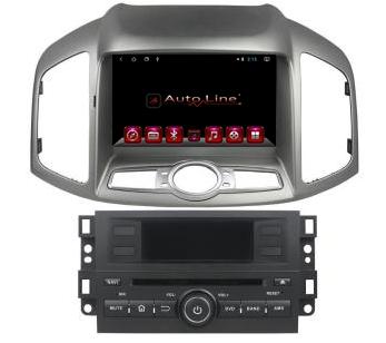 ANDROID 8.1.0 Chevrolet Captiva 2013-2016г. HD ЭКРАН 1024-600 ПРОЦЕССОР 4 ЯДРА (QUAD CORE)