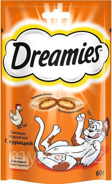 DREAMIES лакомства c курицей 60 гр