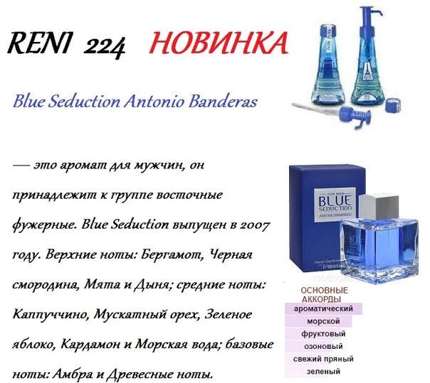 Аромат направление blue seduction men (a.banderas) 100мл