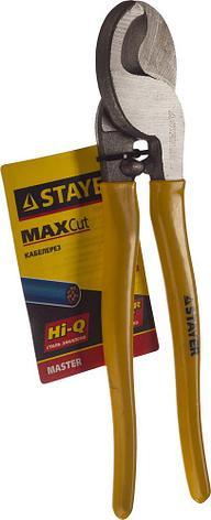 """Кабелерез STAYER """"PROFI"""" для цветных металлов ( Cu + Al), кабель до d 10мм, 250мм, фото 2"""