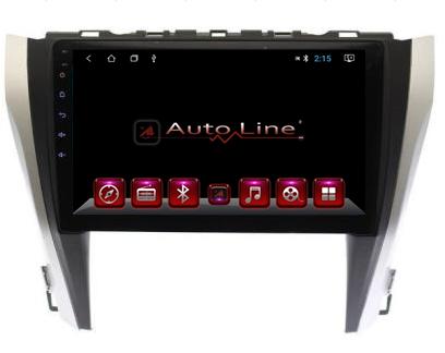 Автомагнитола AutoLine Toyota Camry 55 HD ЭКРАН 1024-600 ПРОЦЕССОР 8 ЯДЕР (OCTA CORE)