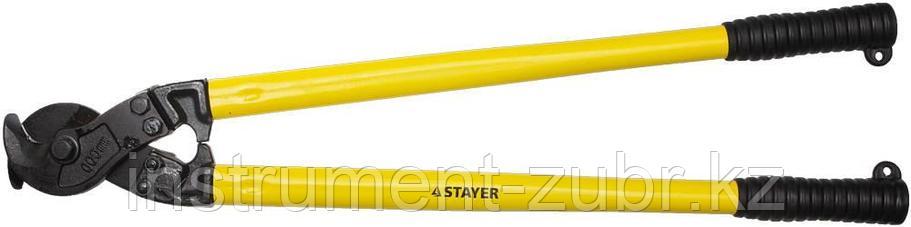 """Кабелерез STAYER """"PROFI"""" для цветных металлов (Cu + Al ), кабель до d 14мм, 600мм, фото 2"""