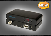 Удлинитель HDMI по коаксиальному кабелю SX-V379RX Приемник