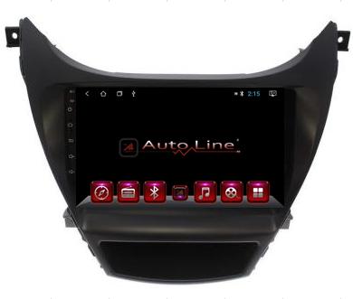Автомагнитола AutoLine Hyundai Elantra 2013-2015 8-ядерный (OCTA CORE), фото 2