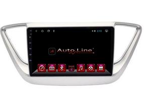 Автомагнитола AutoLine Hyundai Accent 2017-2018 ПРОЦЕССОР 8 ЯДЕР (ULTRA OCTA)