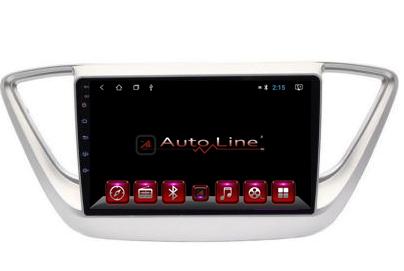Автомагнитола AutoLine Hyundai Accent 2017-2018 ПРОЦЕССОР 8 ЯДЕР (ULTRA OCTA), фото 2