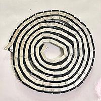Транспортер подающий/приёмный для станков по прямолинейной обработке кромки стекла (цепь) 120 секций (резина)