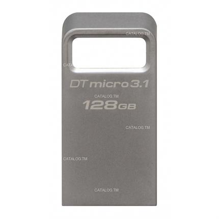 USB Флеш 128GB 3.1 Kingston DTMC3/128GB металл, фото 2