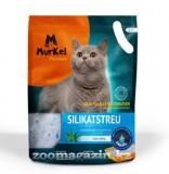Murkel, Муркель силикагелевый наполнитель для кошек с ароматом алоэ вера, уп. 22л (10кг)