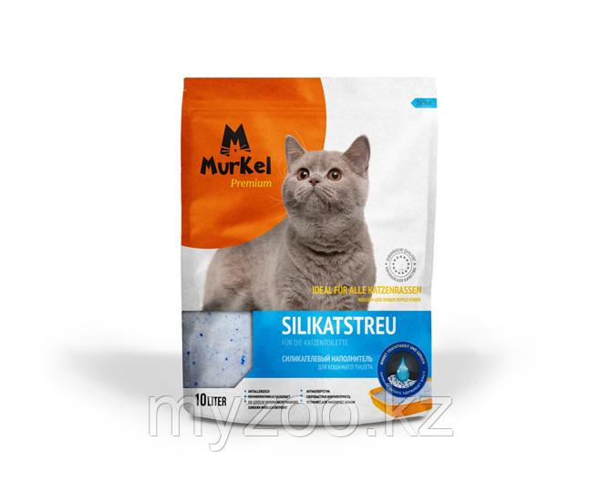 Murkel, Муркель силикагелевый наполнитель для кошек без ароматизатора, уп. 44л (20кг)