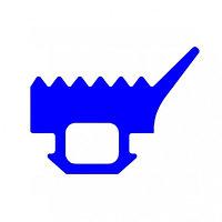 Уплотнитель для прижимной планки ТПУ-007.1 СИАЛ / КраМЗ
