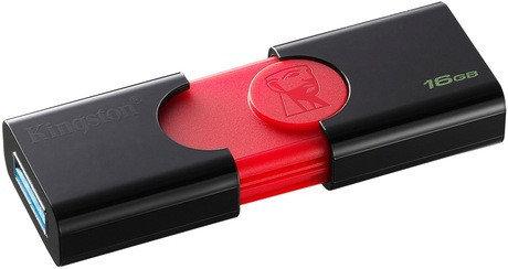 USB Флеш 16GB 3.0 Kingston DT106/16GB черный, фото 2