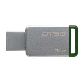 USB Флеш 16GB 3.0 Kingston DT50/16GB металл, фото 2