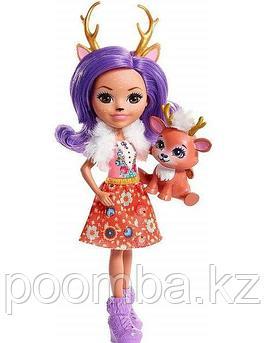 Энчантималс  кукла  Данесса Оления  с любимой зверушкой