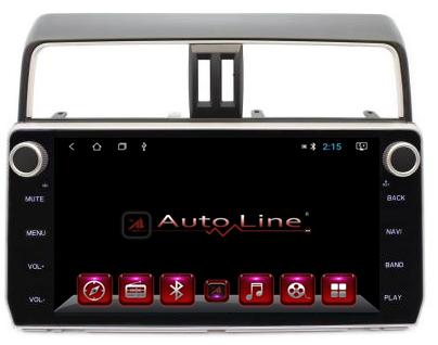 Автомагнитола AutoLine  TOYOTA LC PRADO 150 2017+ HD ЭКРАН 1024-600 ПРОЦЕССОР 4 ЯДРА (QUAD CORE)
