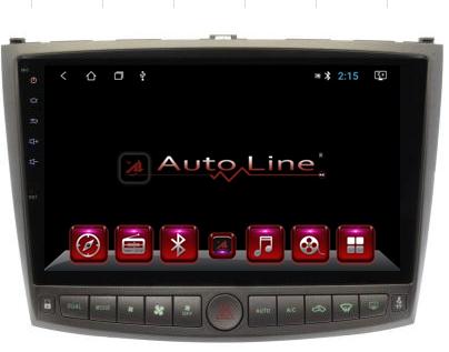 ANDROID 8.1.0 Lexus IS250/350 2007-2010г. HD ЭКРАН 1024-600 ПРОЦЕССОР 4 ЯДРА (QUAD CORE)