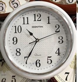 Часы настенные, Contin, белый