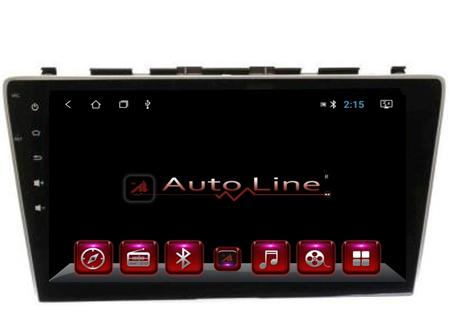 Автомагнитола AutoLine HONDA CR-V2007-2012 HD ЭКРАН 1024-600 ПРОЦЕССОР 4 ЯДРА (QUAD CORE)