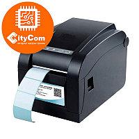Принтер этикеток чеков 2 в 1 Xprinter XP-350B POS термопринтер чековый для магазинов, бутиков, кафе и др