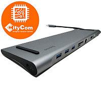 HydraDock Baseus, 10-портовая USB-C док-станция для Apple MacBook и др. Адаптер, переходник. Dock. Арт.5699