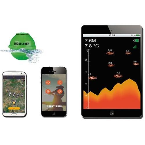 Беспроводной Wi-Fi эхолот для iOS и Android устройств Lucky FF916