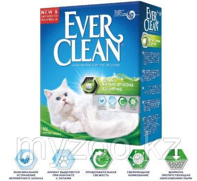 Ever Clean Scented Extra Strong Clumping, уп. 10л  Эвер Клин комкующийся наполнитель c ароматизатором 