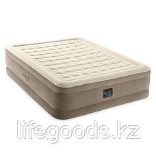 Надувная кровать двуспальная со встроенным насосом Intex 64428, фото 2
