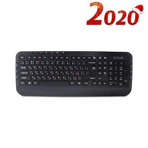 Клавиатура Delux DLK-160UB, фото 2
