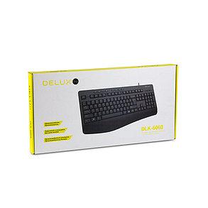 Клавиатура Delux DLK-6060UB, фото 2