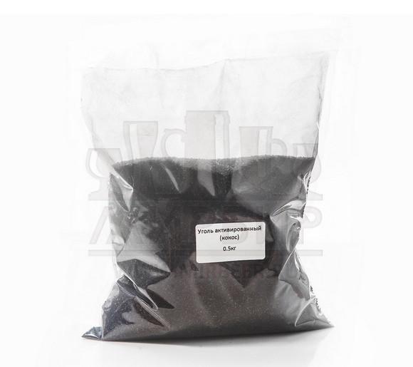 Уголь Кокосовый Активированный, Beervingem, 0.5 кг