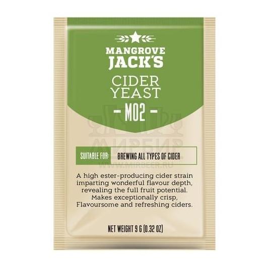 Дрожжи Mangrove Jack's Cider M02, 10 г