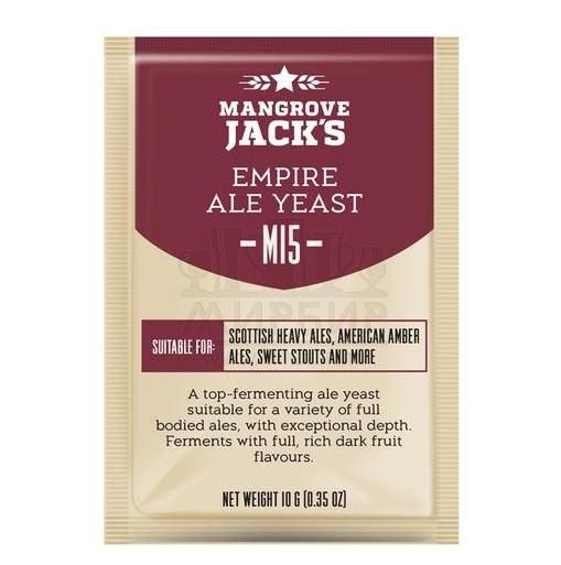 Дрожжи Mangrove Jack's Empire Ale M15, 10 г